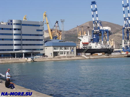Новороссийский морской торговый порт.