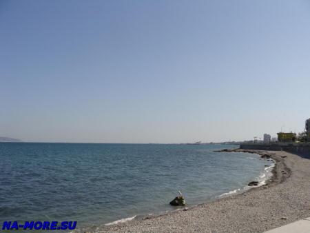 Пляж в Цемесской бухте