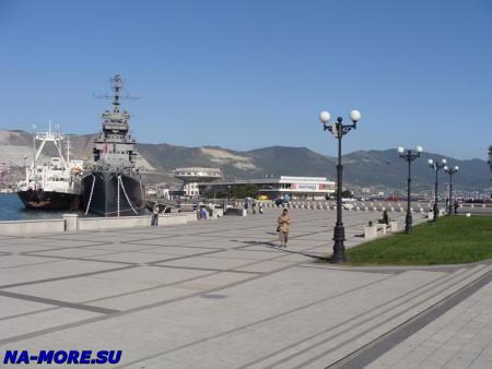 Новороссийск. Морской вокзал.