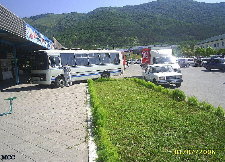 На автовокзале Геленджика