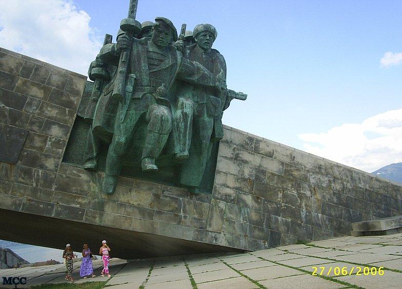 Мемориальный комплекс на  &quot Малой земле &quot