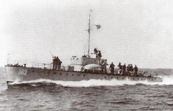 СКА-062. На похожих кораблях сражался Н.И.Сипягин.