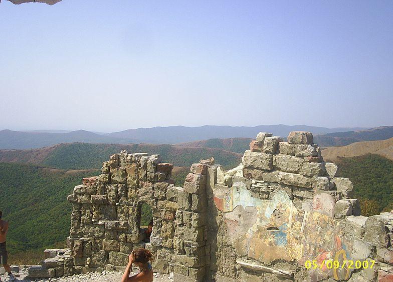 В горах Кавказа. Грозовые ворота.