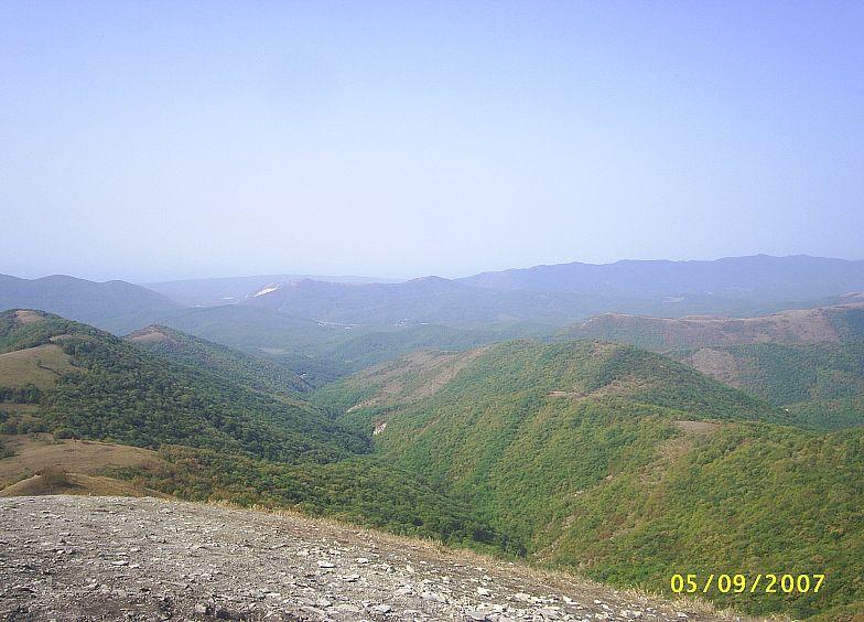 В горах Кавказа. Маркотхский хребет.