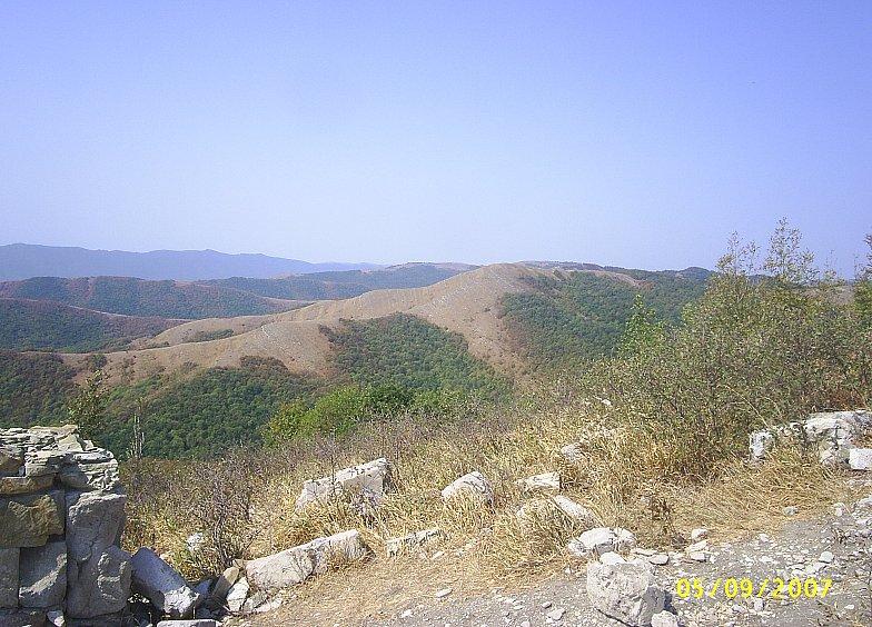 В горах Кавказа. Недалеко от Геленджика.