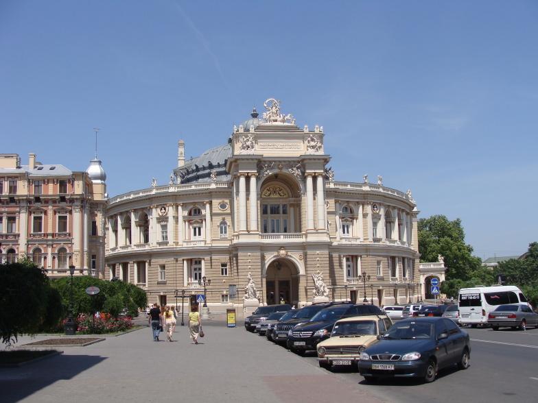 Одесса. Театр оперы и балета.