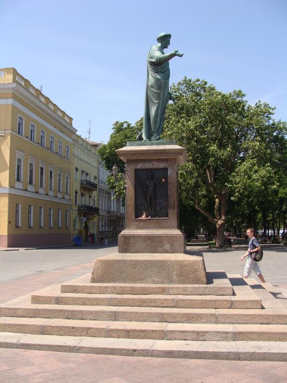 Одесса. Памятник Ришелье.