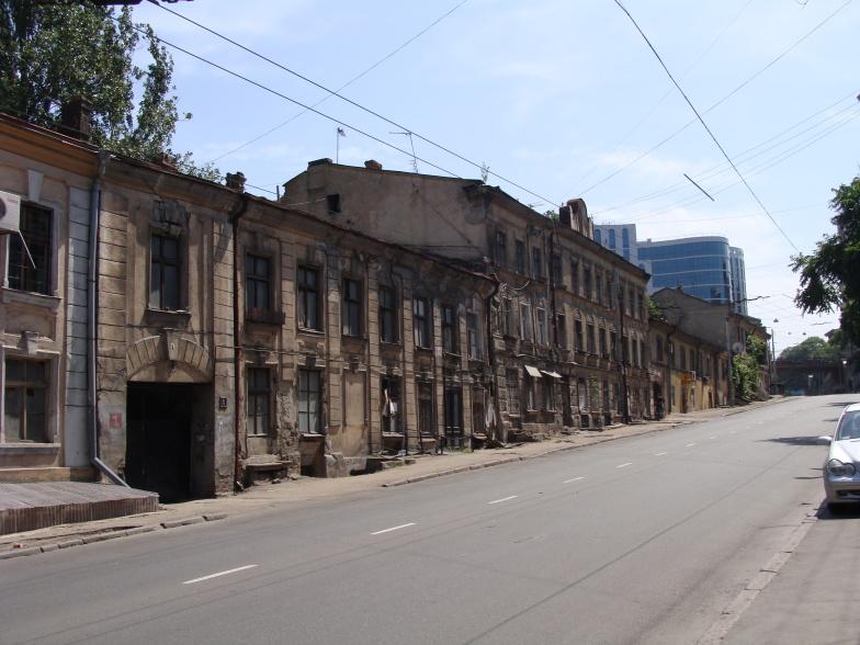 Польский спуск в Одессе.