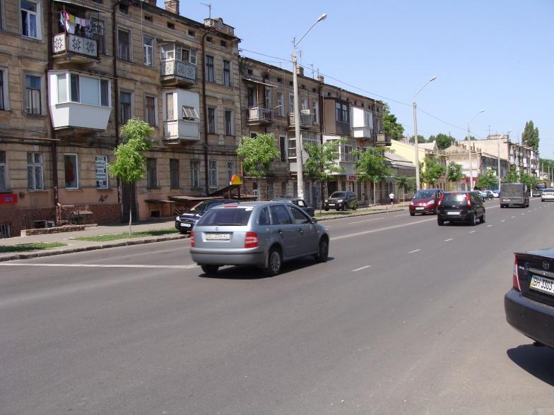 Одесса. Молдаванка. Улица Мясоедовская.
