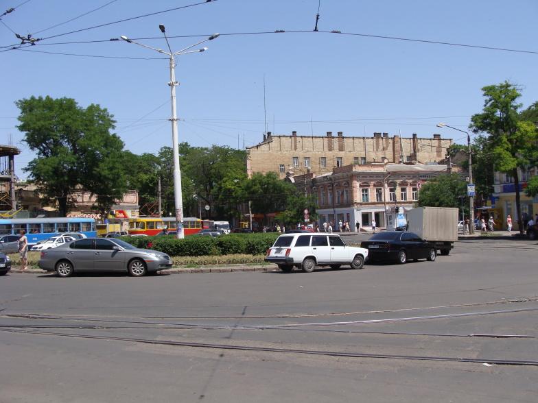 Одесса. Тираспольская площадь.