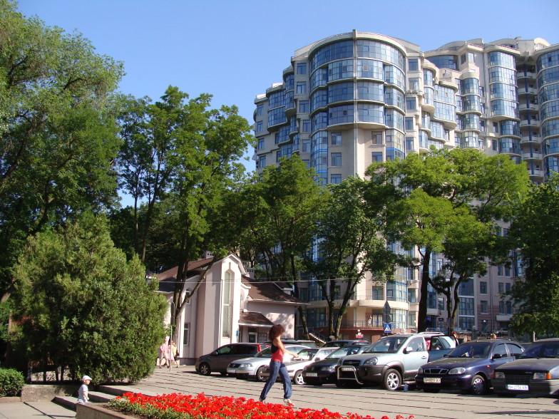 Новый дом на Лидерсовском бульваре в Одессе