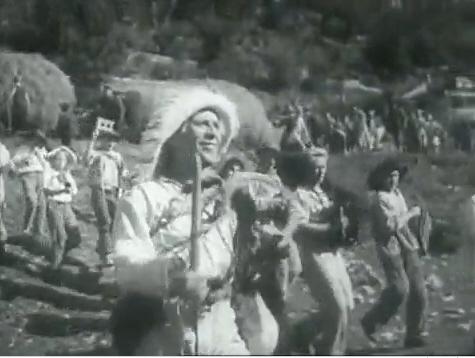 Гагра. Кадры из фильма &quotВесёлые ребята&quot. Л.О. Утёсов в роли Кости Потехина.