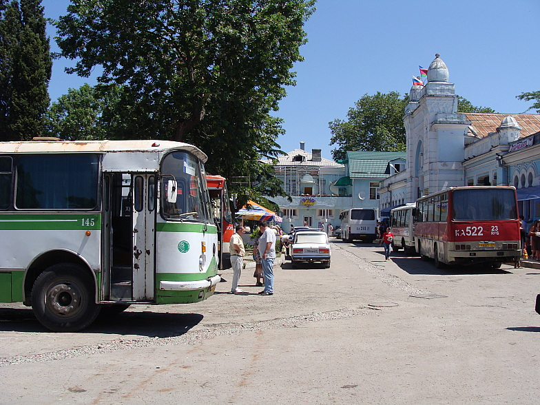 Автовокзал Туапсе.