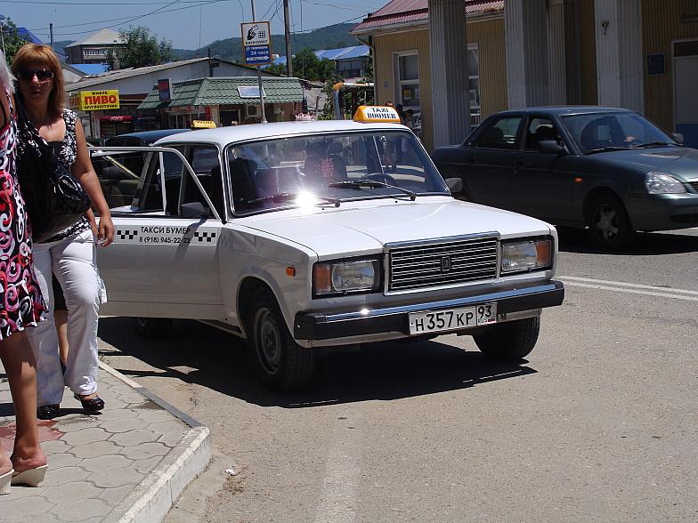 ВАЗ-2107 - такси Бумер в Новомихайловском