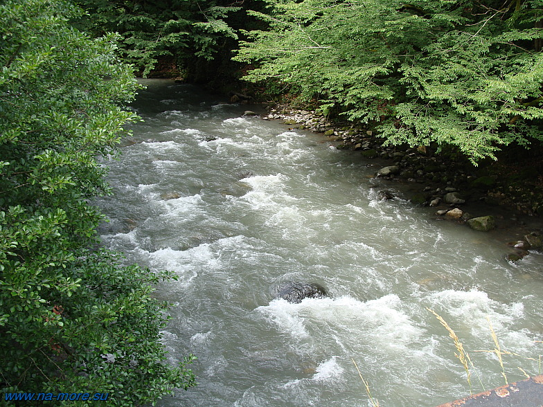 Кавказ. Река Чвижепсе.