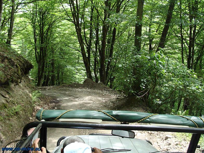 На УАЗе по горной дороге к озерам Хмелевского.