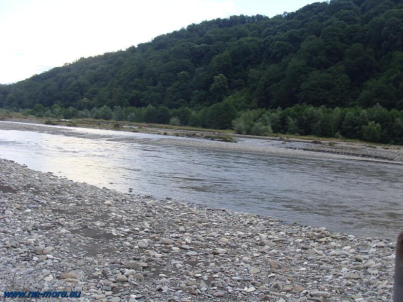 Река Шахе.