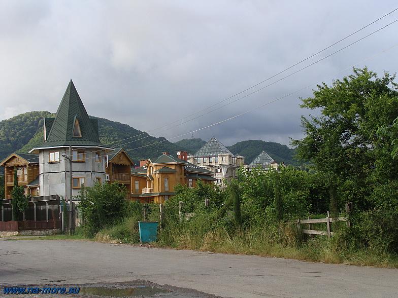 В Головинке на черноморском побережье.