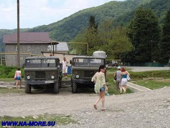 ГАЗ-66 в ауле Большой Кичмай