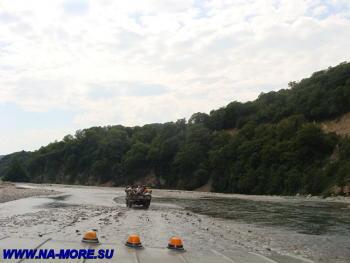 По реке Шахе