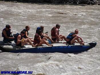 Сплав по реке Бзыбь
