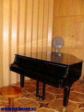 Рояль на даче Сталина на Рице