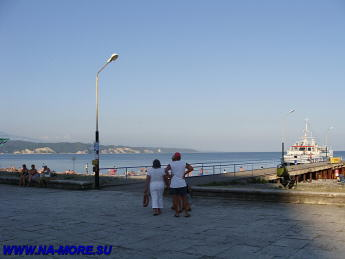 Пицунда. Берег Чёрного моря.