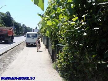 На ул.Ленина в Адлере.