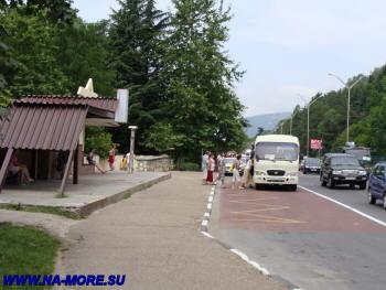 Остановка общественного транспорта на ул.Ленина рядом с Аэрофлотской ул.