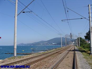 Железная дорога в Адлере