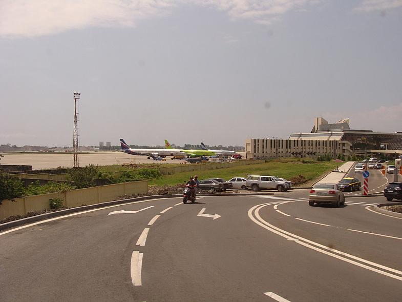 Новый аэропорт в Адлере