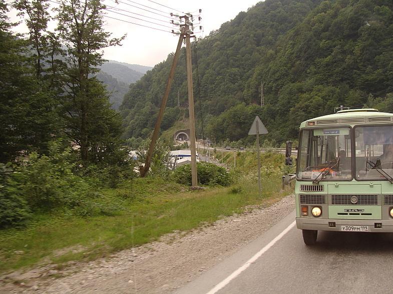 На Краснополянском шоссе