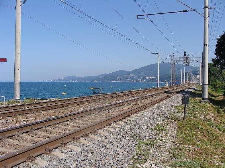 Построены вторые железнодорожные пути на перегоне Адлер-Хоста