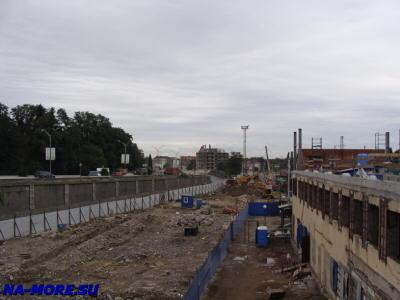 Готовится новый подъезд к вокзалу Адлера