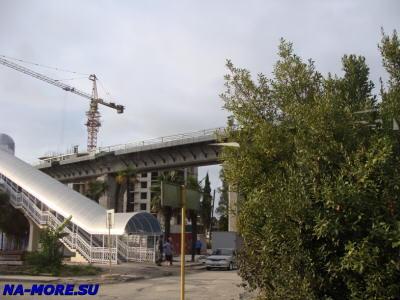 Железная дорога в аэропорт Сочи ( Адлер ).