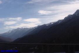 Горы Кавказа рядом с Красной Поляной