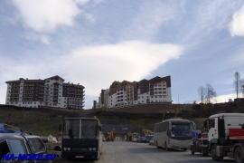Олимпийские объекты в горах у п.Эсто-Садок