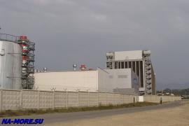 Новая ТЭЦ Адлера рядом с Олимпийским парком.