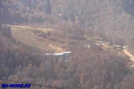 Склон отрога Кавказа - хребта Аибга