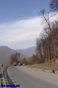 шоссе на хребет Аибга