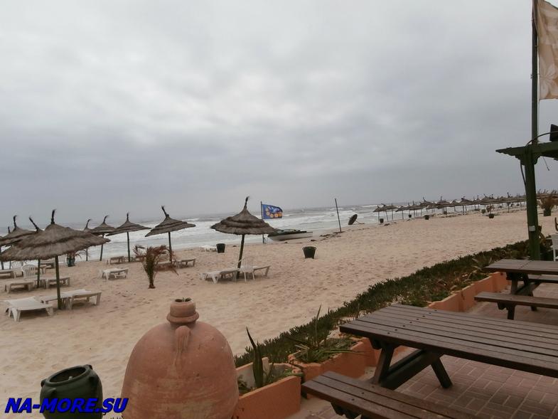 Тунис. На пляже отеля El Ksar 4*