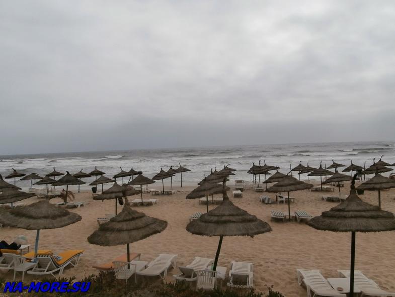 Тунис. Пляж отеля El Ksar 4*