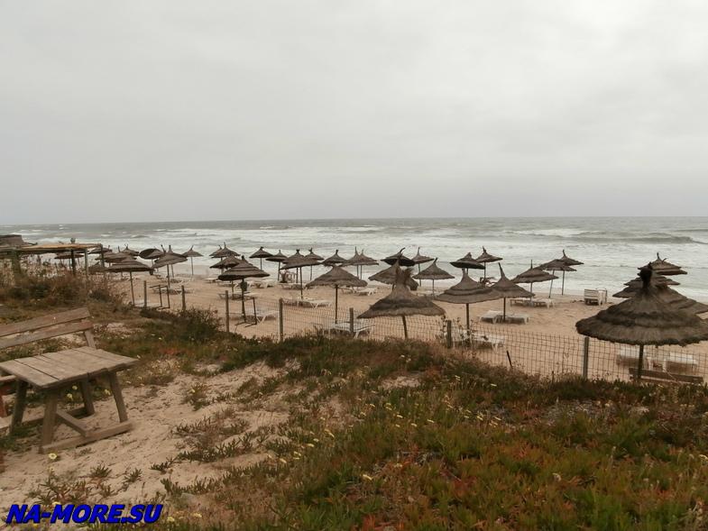 Тунис. Отель El Ksar 4*. Пляж.
