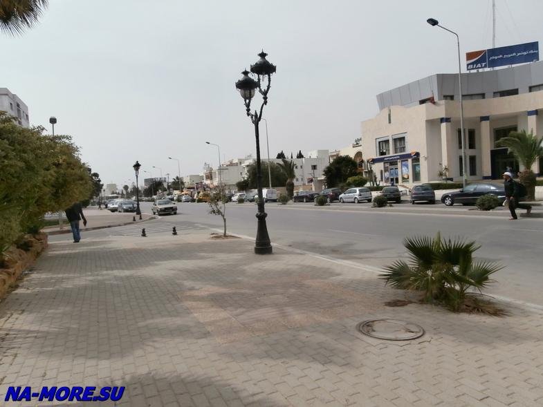 Тунис. Порт Эль Кантауи.