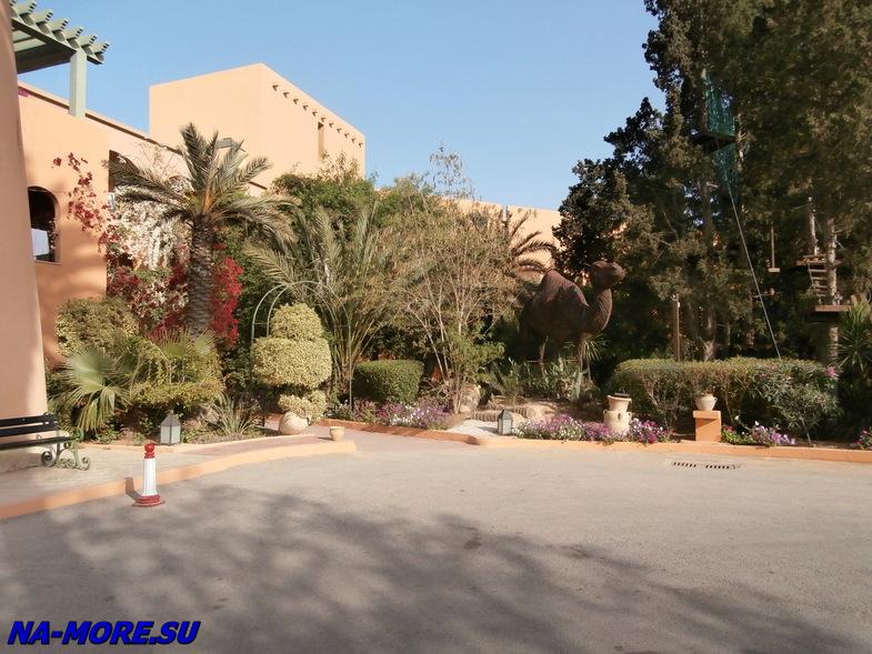 Тунис. Порт Эль Кантауи. Отель El Ksar 4*