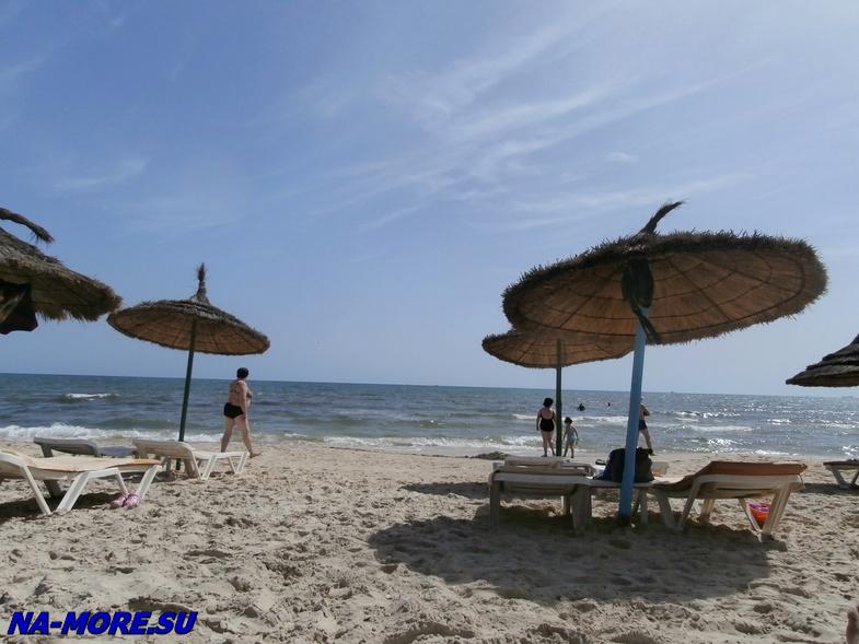 Тунис. Отель El Ksar 4*. Пляж на Средиземном море.