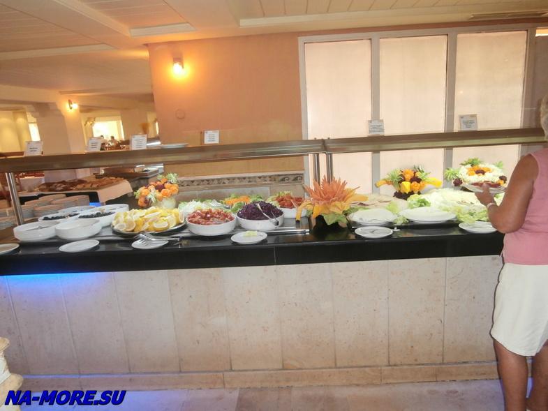 Тунис. Ресторан. Отель El Ksar 4*.