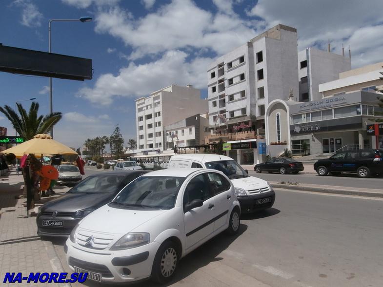 Тунис. Курорт  Порт Эль Кантауи.