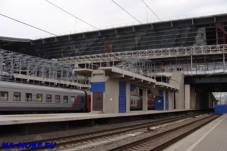 На станции Адлер