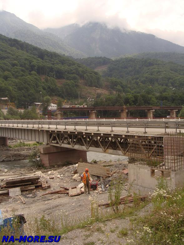 Строительство железной дороги на Красную Поляну
